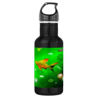 海の下の美しい ウォーターボトル