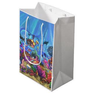 海の下 ミディアムペーパーバッグ
