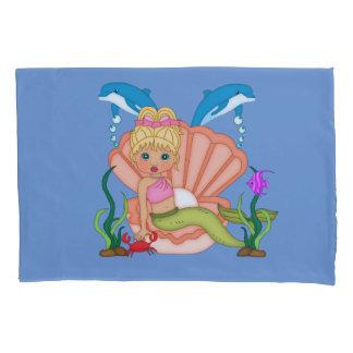 海の人魚の下 枕カバー