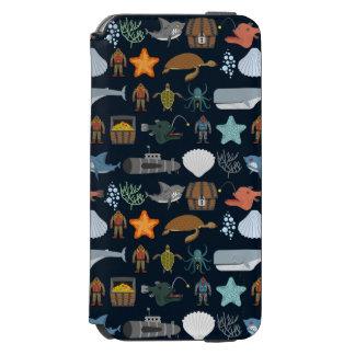 海の住民パターン1 INCIPIO WATSON™ iPhone 5 財布型ケース