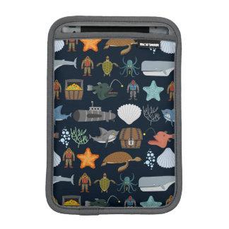 海の住民パターン1 iPad MINIスリーブ