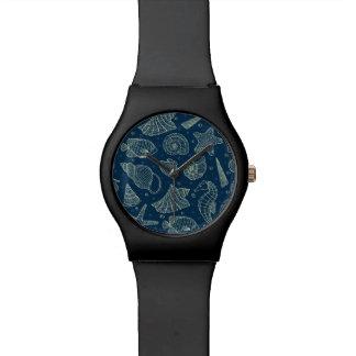 海の住民パターン2 腕時計