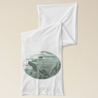 海の円の船 スカーフ