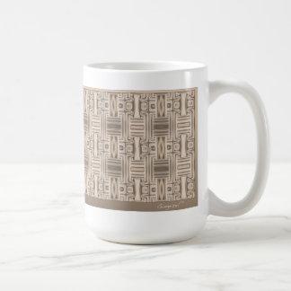海の別荘台地の幾何学的なマグ コーヒーマグカップ