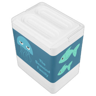 海の創造物のカスタムのクーラー IGLOOクーラーボックス