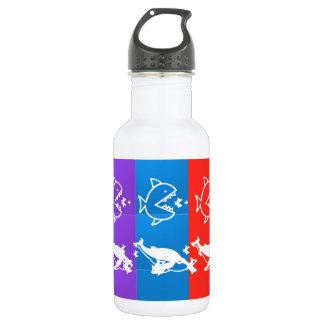 海の創造物: 鮫のbigFISHのsmallFISHの食糧 ウォーターボトル