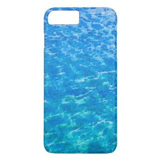 海の反射の水彩画 iPhone 8 PLUS/7 PLUSケース