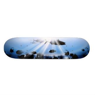 海の地獄の景色 20CM スケートボードデッキ