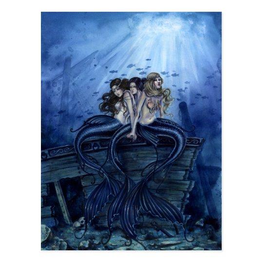 海の姉妹 ポストカード
