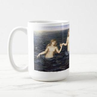 海の娘のマグ コーヒーマグカップ