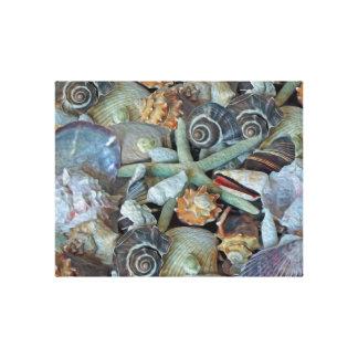 海の宝石の貝殻のキャンバスのプリント キャンバスプリント