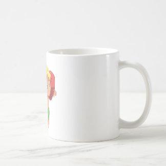 海の小さな女の子 コーヒーマグカップ