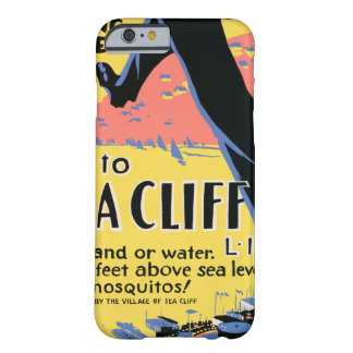 海の崖へのちょうど1つの長いステップ BARELY THERE iPhone 6 ケース