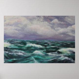 海の嵐 ポスター