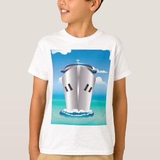 海の巡航はさみ金 Tシャツ