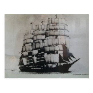 海の帆船北京 ポストカード