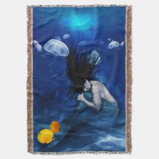 海の底で眠っている人魚 スローブランケット
