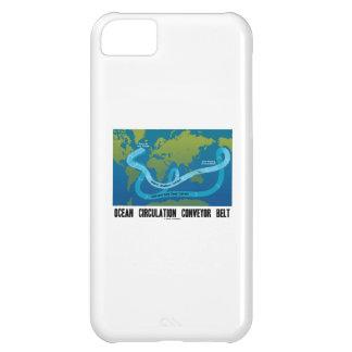 海の循環のコンベヤーベルト(世界地図) iPhone5Cケース