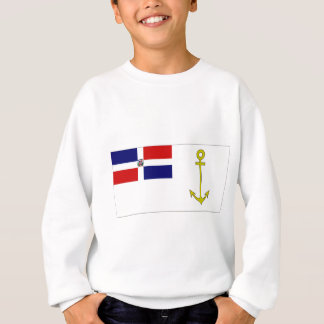 海の旗のドミニカ共和国の大統領 スウェットシャツ