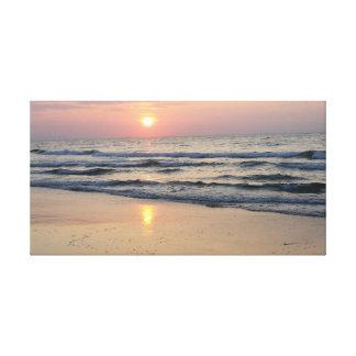 海の日の出 キャンバスプリント