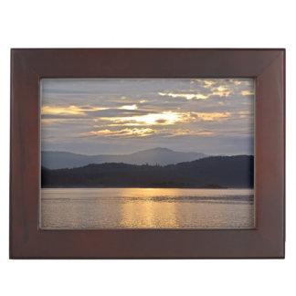 海の日没場面 ジュエリーボックス