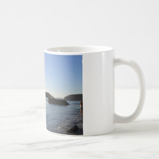 海の日没 コーヒーマグカップ