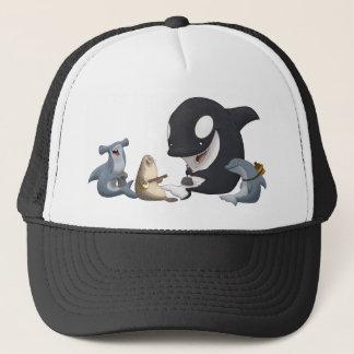 海の水差しバンド帽子 キャップ