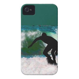 海の泡のサーフ Case-Mate iPhone 4 ケース