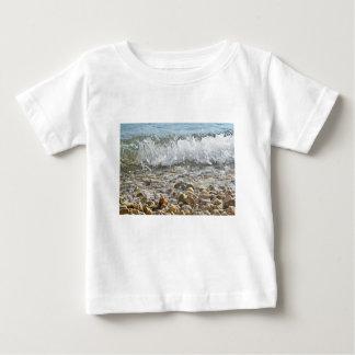 海の波 ベビーTシャツ