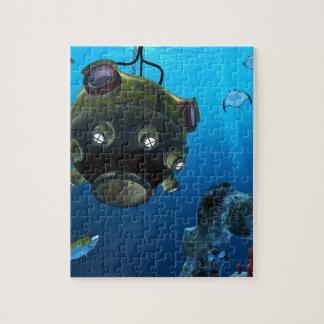 海の深さのBathysphere ジグソーパズル
