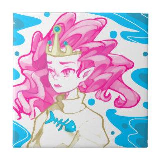 海の王女 タイル