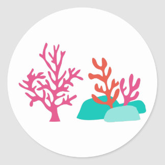 海の珊瑚 ラウンドシール