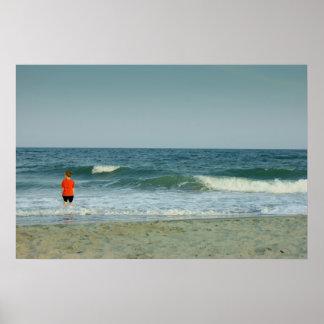 海の男の子 ポスター