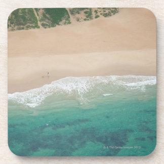 海の眺めのビーチ、Port Elizabethの空中写真、 コースター