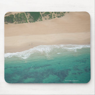 海の眺めのビーチ、Port Elizabethの空中写真、 マウスパッド