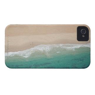 海の眺めのビーチ、Port Elizabethの空中写真、 Case-Mate iPhone 4 ケース