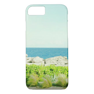 海の眺めのIPhoneのエキゾチックな場合 iPhone 8/7ケース