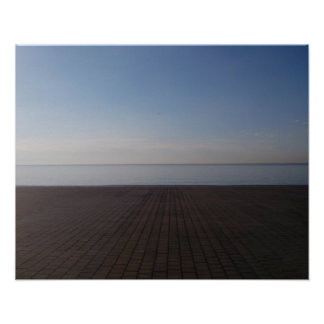 海の眺め(バルセロナ) ポスター