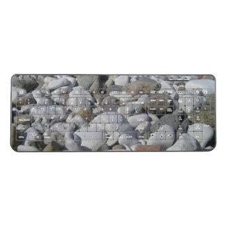海の石造りのキーボード ワイヤレスキーボード