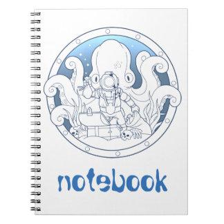 海の秘密 ノートブック
