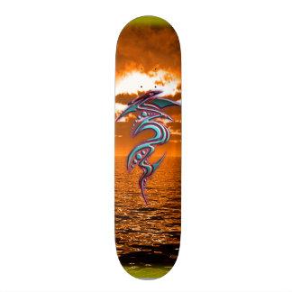 海の種族の日没- - ElixirNinEのデザイン スケートボード