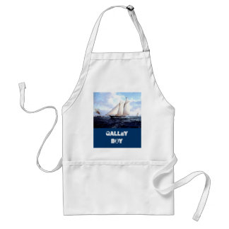 海の競争ヨット スタンダードエプロン