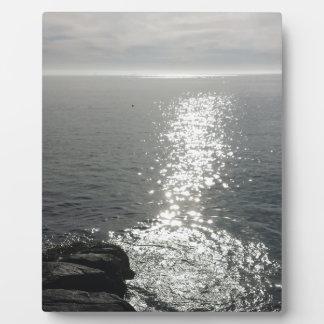 海の美しい フォトプラーク