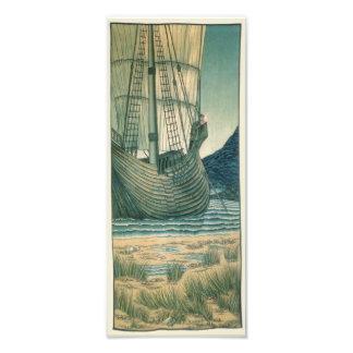 海の聖杯の帆船 フォトプリント