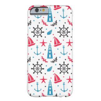 海の航海のなパターン BARELY THERE iPhone 6 ケース