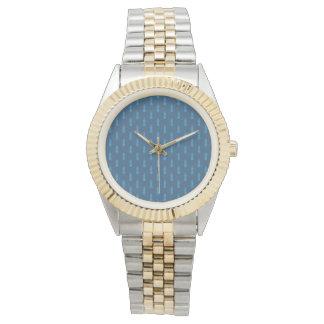 海の船員の航海のな海洋のツートーンブレスレット 腕時計