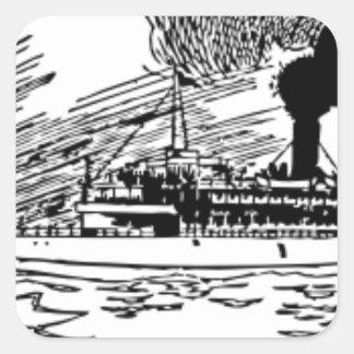 海の船 スクエアシール