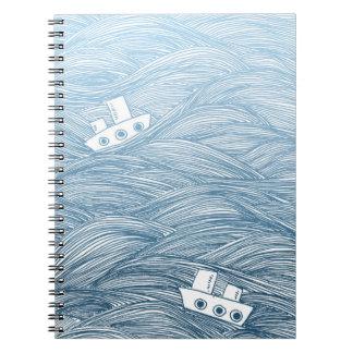 海の船 ノートブック