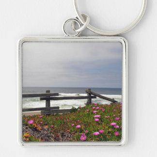 海の花のキーホルダー キーホルダー