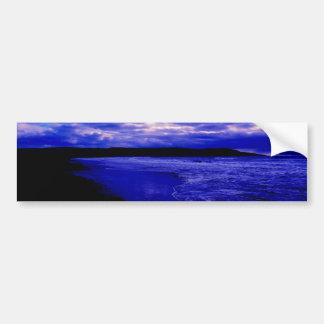 海の薄暗がり バンパーステッカー